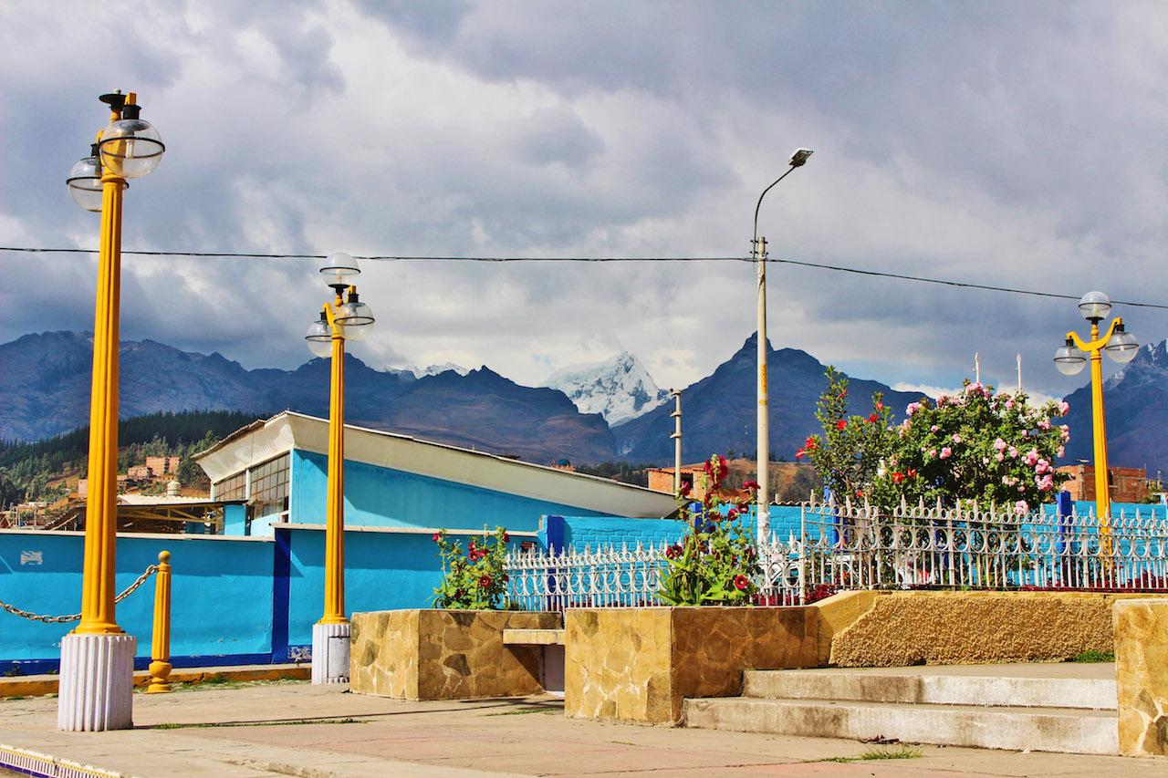 Huaraz Church Square