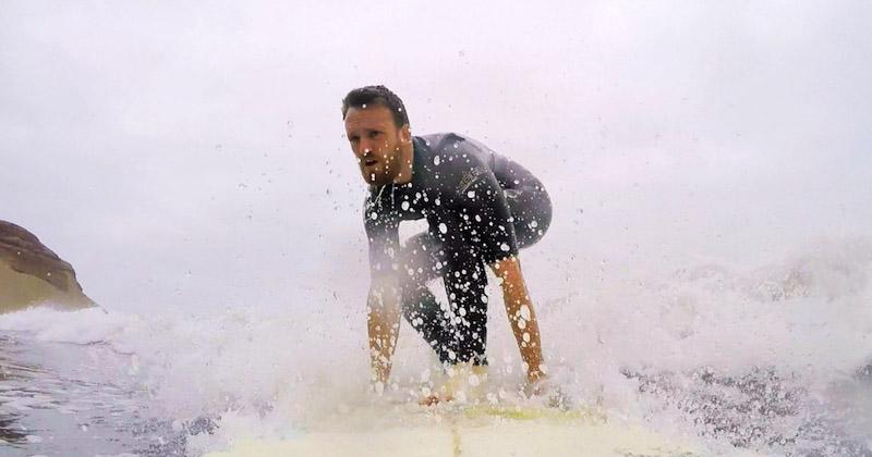 Jake Surfing