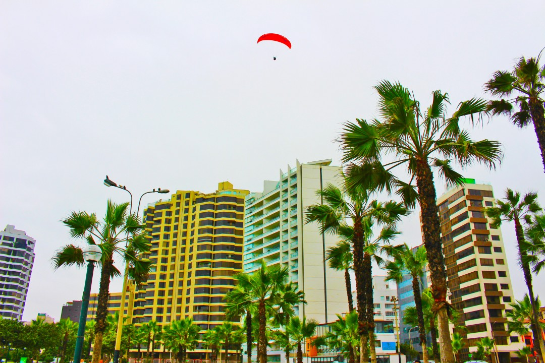 Paragliding over Lima Top 5 peru adventures, Inca to Inuit