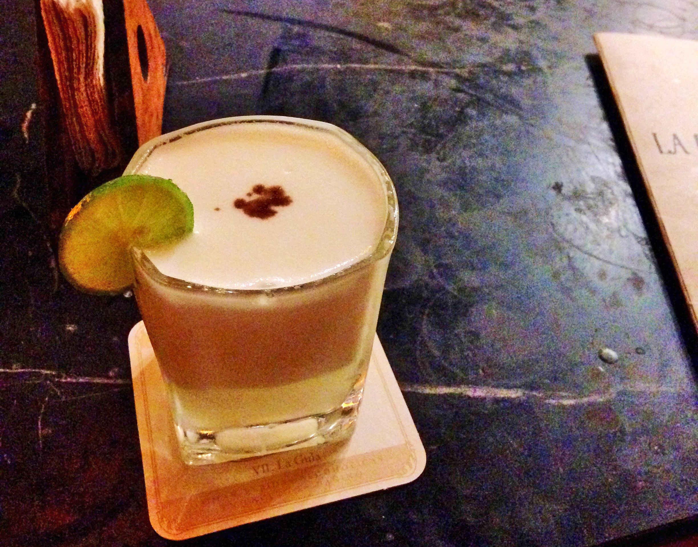 Pisco Sour, barranco