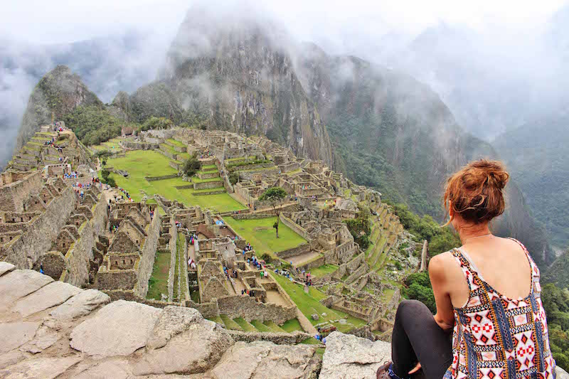 Lynds back to Machu Picchu