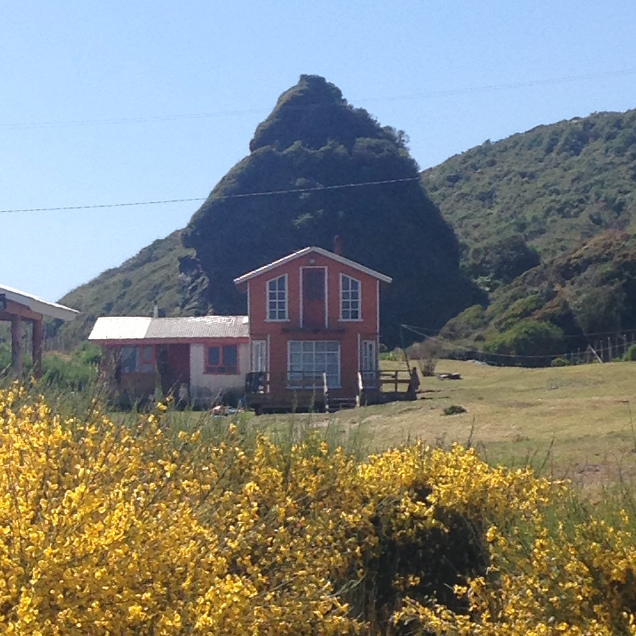 Chiloe House with hill, Inca to Inuit