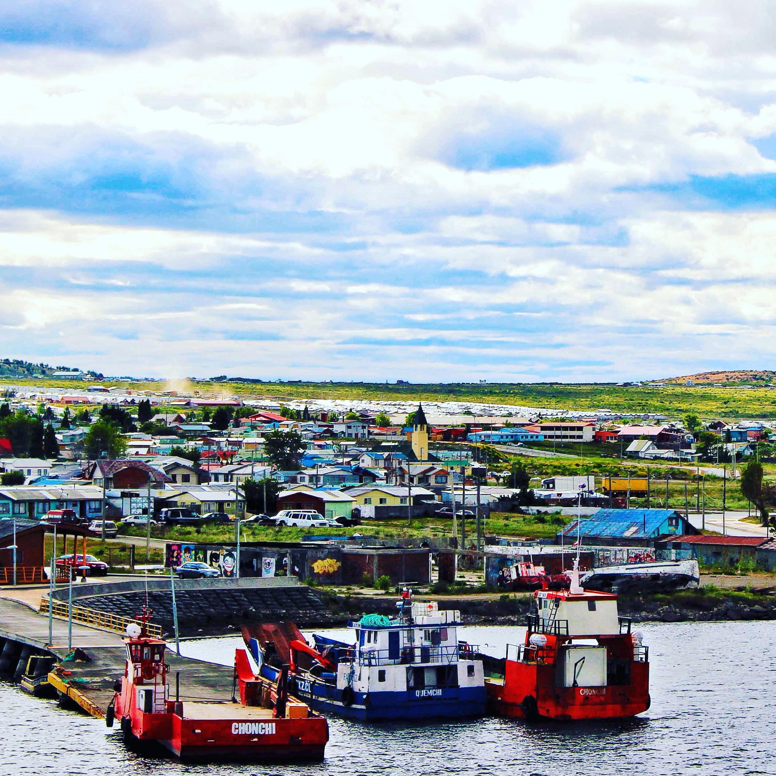 Puerto Natales Dock, Navimag, Inca to Inuit