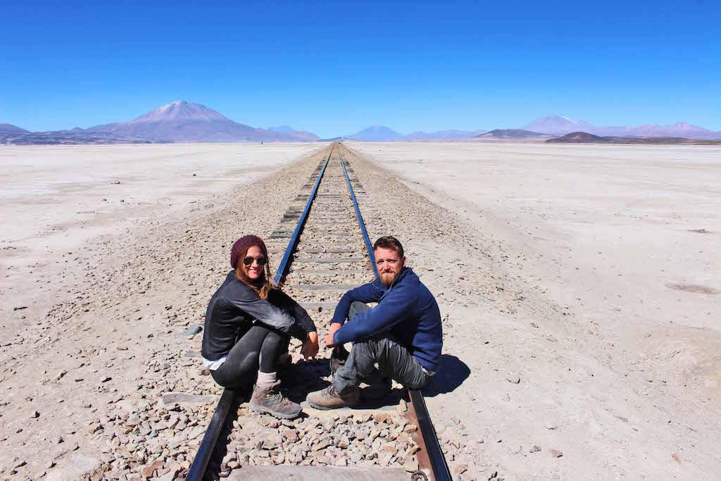 Railtrack, The Bolivian Slat Flats, Salar de Uyuni