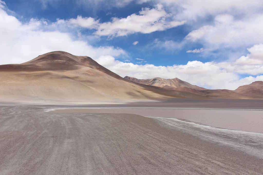 Sand Mountains, The Bolivian Salt Flats