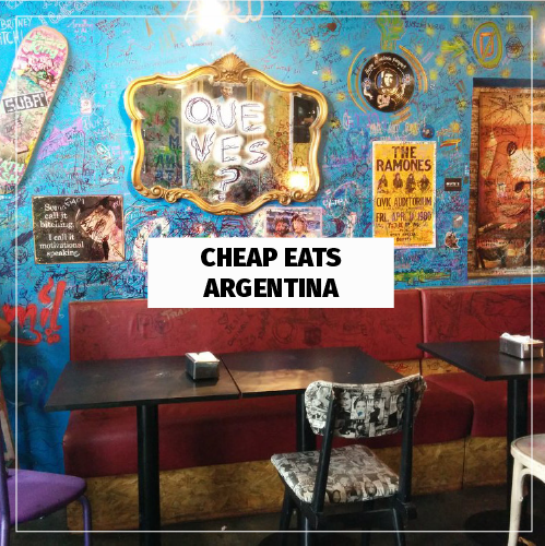 Cheap Eats Guide Argentina