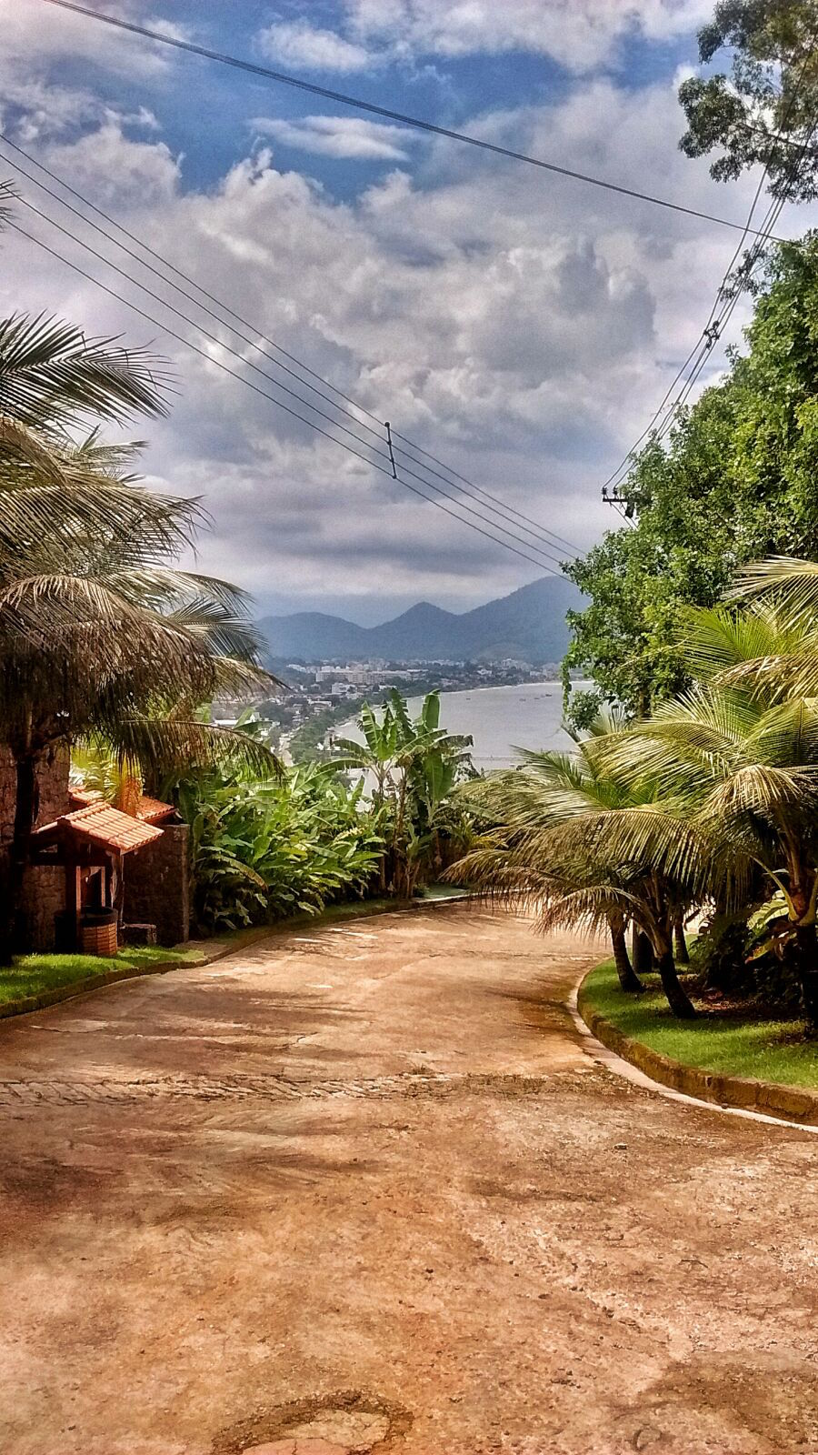 Ubatuba View Of Town