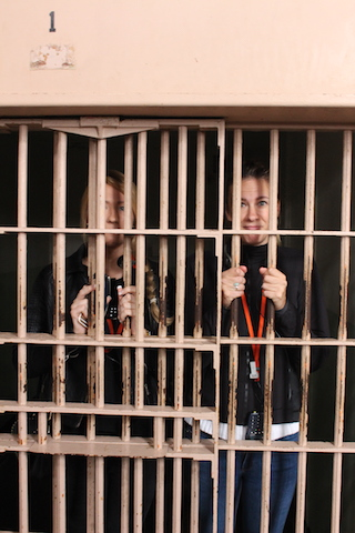 Inside a cell Alcatraz