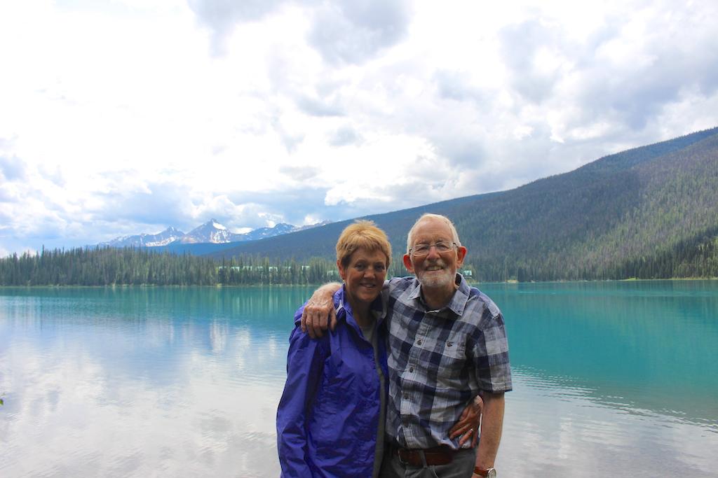 Ted and Samantha Emerald Lake